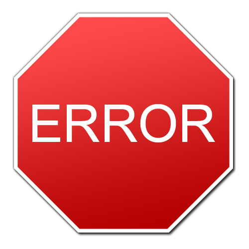 Create custom error message by sys sp addmessage in SQL Server 2012Error Icon Gif